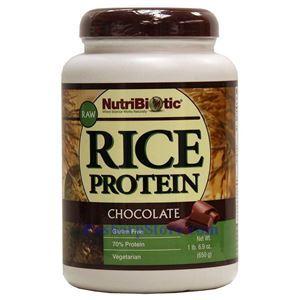 图片 NutriBiotic牌有机大米蛋白粉 巧克力味 650克 40次用量