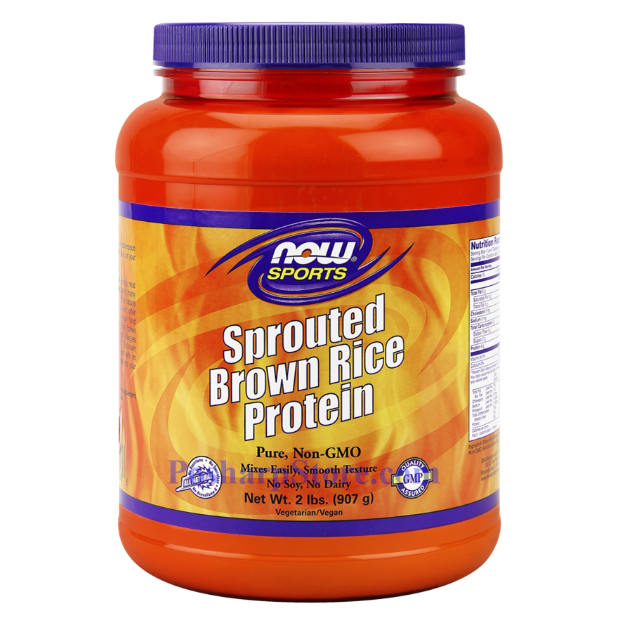 Picture for category Now Foods Sports Sprouted Brown Rice Protein Powder 2 Lbs