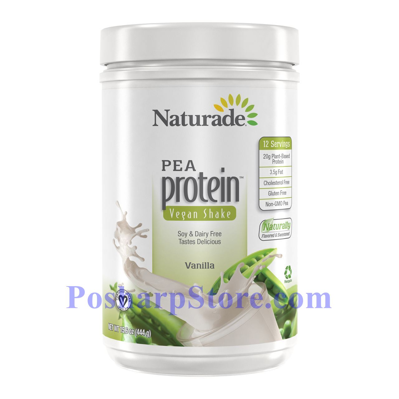 Picture for category Naturade Pea Protein Vegan Shake Vanilla Flavor 15.66 oz