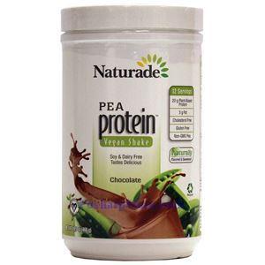 图片 Naturade牌豌豆蛋白质粉奶昔 巧克力味 468克 12天用量
