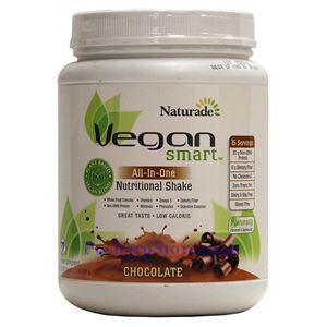 图片 Naturade牌复合植物蛋白营养奶昔 巧克力味 690克 15天用量