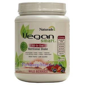 Picture of Naturade VeganSmart All-In-One Nutritional Shake Wild Berries Flavor 22.8 oz