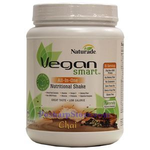 Picture of Naturade VeganSmart All-In-One Nutritional Shake Chai Flavor 22.8 oz