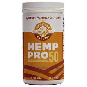 Picture of Manitoba Harvest HempPro 50® Hemp Protein Powder 16 oz 15 Servings