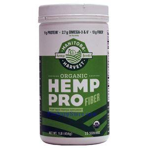 图片 Manitoba Harvest牌HempPro系列大麻籽蛋白纤维粉 454克 15天用量