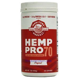 图片 Manitoba Harvest牌HempPro 70系列大麻籽蛋白粉 454克 15天用量
