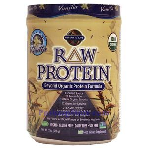 Picture of Garden of Life RAW Organic Protein Plant Formula Vanilla Flavor 22 Oz