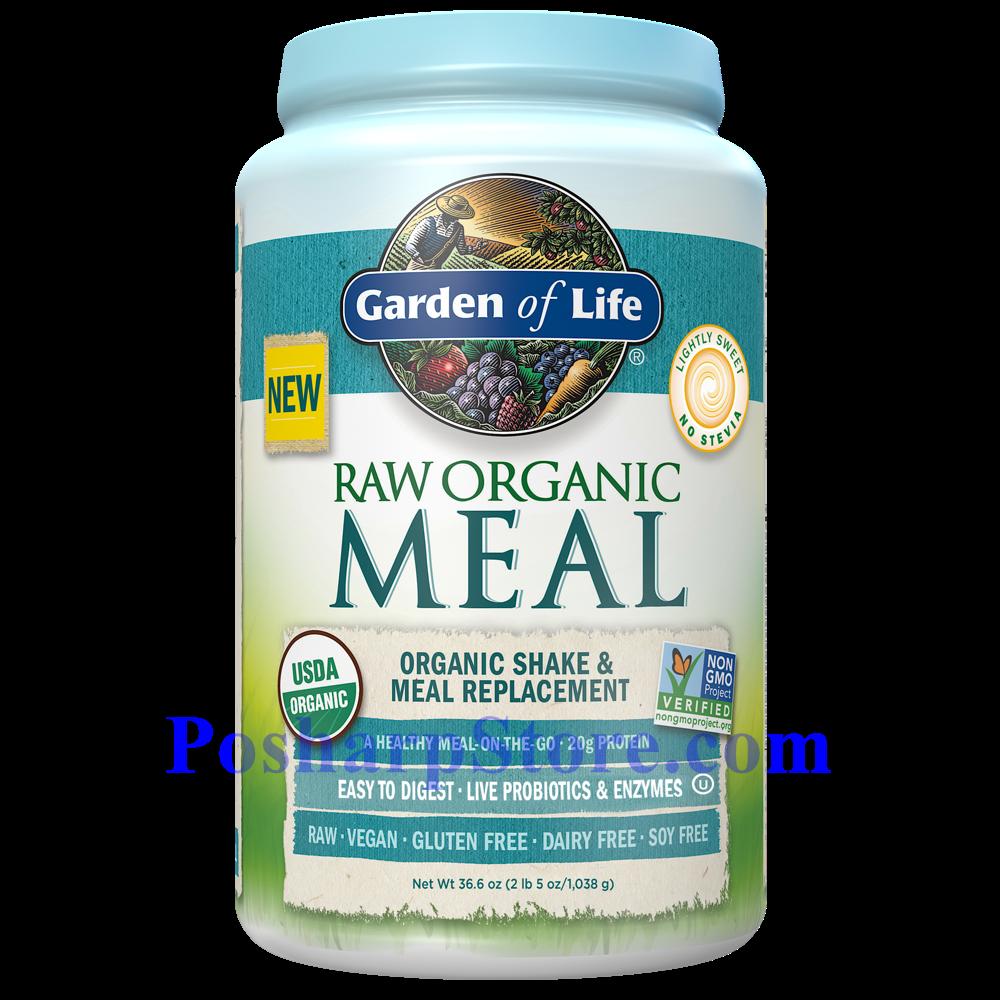 分类图片 Garden of Lifet牌有机替代餐系列植物蛋白粉奶昔 原味 1038克 28天用量