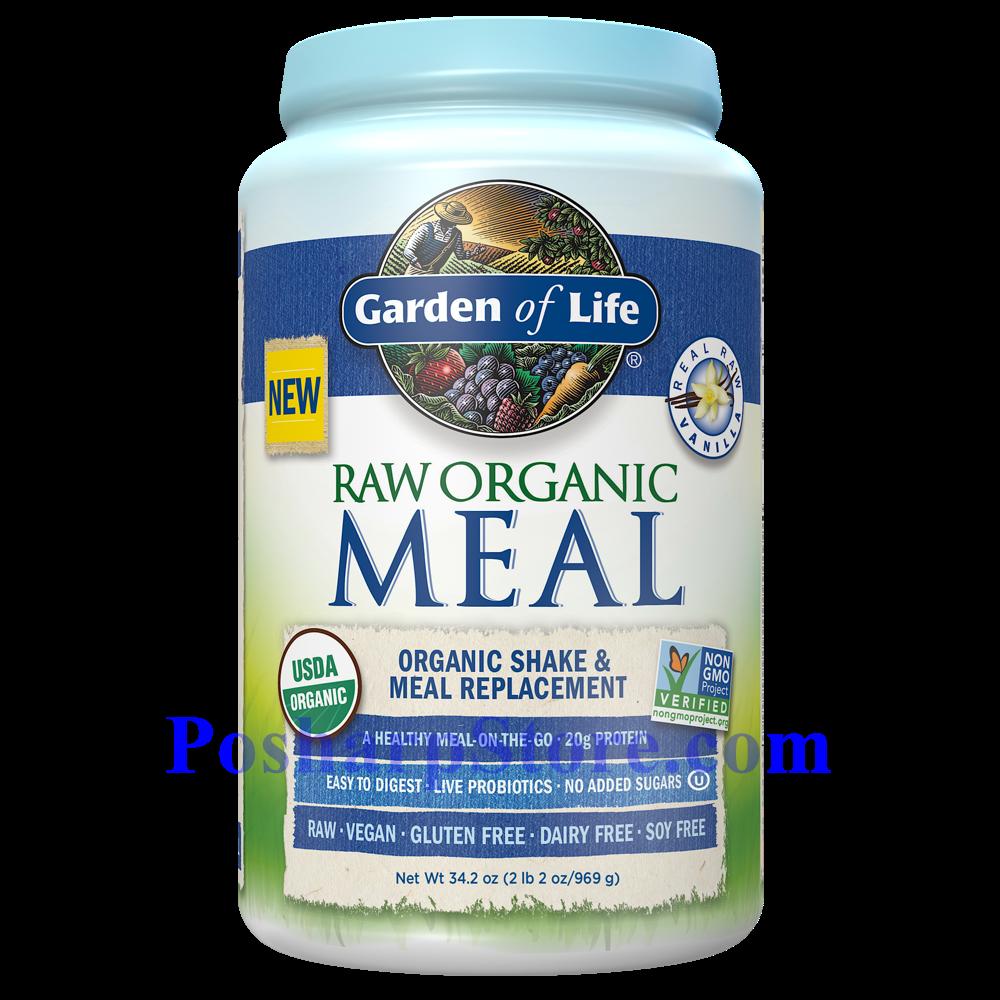 分类图片 Garden of Lifet牌有机替代餐系列植物蛋白粉奶昔 香草味 969克 28天用量