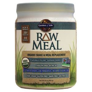 Picture of Garden of Life RAW Organic Meal Plant Protein Shake Unflavored 18.3 Oz