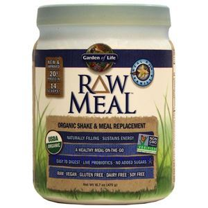 Picture of Garden of Life RAW Organic Meal Plant Protein Shake Vanilla Flavor 17.1 Oz