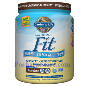 Picture of Garden of Life RAW Organic Fit High Protein for Weight Loss Chocolate Flavor 16.3 Oz
