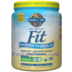 Picture of Garden of Life RAW Organic Fit High Protein for Weight Loss Unflavored 15.1 Oz