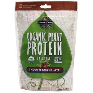 图片 Garden of Lifet牌无谷物有机植物蛋白粉奶昔 巧克力味 276克 10天用量