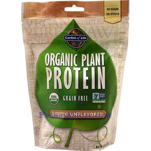 Picture of Garden of Life Organic Plant Protein Powder Smooth Unflavored 8.3 Oz