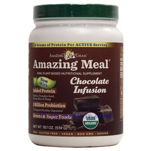Picture of Amazing Grass Amazing Meal® Plant-Based Protein Chocolate Infusion 17.9 oz