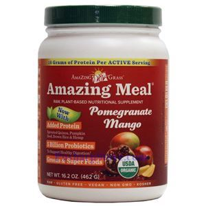 Picture of Amazing Grass Amazing Meal® Plant-Based Protein Pomegranate Mango 16.2 oz