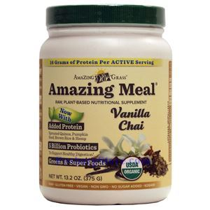 Picture of Amazing Grass Amazing Meal® Plant-Based Protein Vanilla Chai 13.2 oz