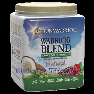 图片 Sunwarrior牌Warrior Blend 系列有机蔬菜蛋白粉奶昔 原味 500克 20天用量