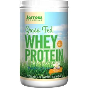 Picture of Jarrow Formulas Grass Fed Whey Protein Vanilla Flavor 13 Oz 15 Servings