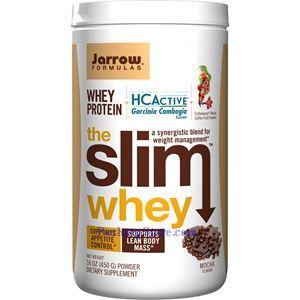 图片 Jarrow Formulas牌藤黄果精瘦身纤体乳清蛋白粉奶昔 摩卡咖啡味 450克 18天用量