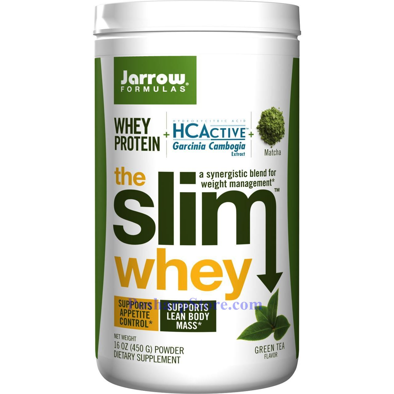 Jarrow Formulas The Slim Whey Protein Plus Hcactive Garcinia