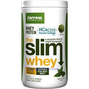 Picture of Jarrow Formulas The Slim Whey Protein Plus HCActive Garcinia Cambogia Green Tea Flavor 16 oz