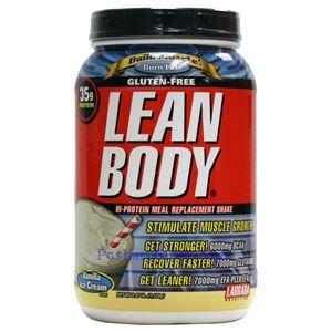 图片 Labrada牌Lean Body健身增肌系列高蛋白代餐奶昔 香草味 1120克 16次用量