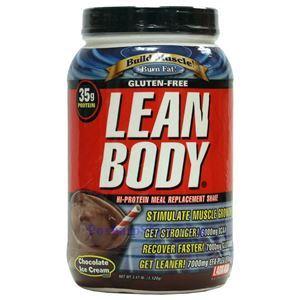 图片 Labrada牌Lean Body健身增肌系列高蛋白代餐奶昔 巧克力味 1120克 16次用量