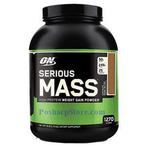 图片 Optimum Nutrition牌Serious Mass增肌系列高蛋白增肌粉 巧克力花生味 2720克