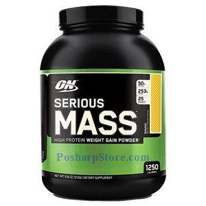 图片 Optimum Nutrition牌Serious Mass增肌系列高蛋白增肌粉 香蕉味 2720克