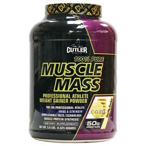 Picture of Cutler Nutrition Muscle Mass Professional Weight Gainer Powder Vanilla Flavor 5.8 lbs