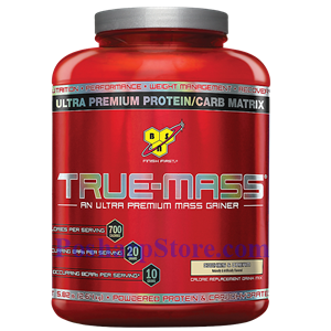 Picture of BSN True Mass Ultra-Premium Lean Mass Gainer Cookies & Cream 5.82 lbs 18 Servings