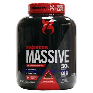 Picture of CytoSport Monster Massive Protein Supplement Mix Chocolate Flavor 4.6 lbs 10 Servings