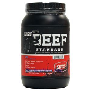 Picture of Betancourt Nutrition The Beef Standard Beefiso Hydrolyzed Beef Protein Isolat Chocolate 2 lbs 28 Servings