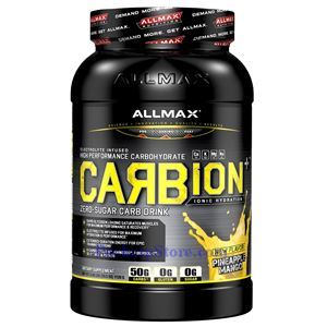 Picture of ALLMAX Carbion Plus High Performance Carbohydrate Drink Pineapple Mango 2.46 lbs 40 Servings