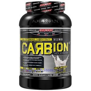 Picture of ALLMAX Carbion Plus High Performance Carbohydrate Drink Unflavored 2.4 lbs 40 Servings