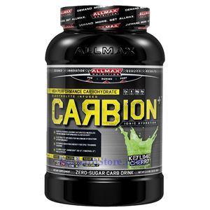 Picture of  ALLMAX Carbion Plus High Performance Carbohydrate Drink Key Lime Cherry 2.4 lbs 40 Servings