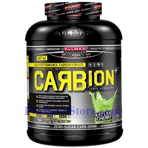 Picture of ALLMAX Carbion Plus High Performance Carbohydrate Drink Key Lime Cherry 5 lbs 84 Servings