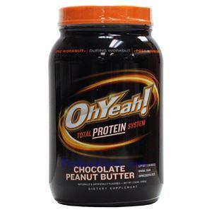 图片 OhYeah!牌健美蛋白粉 巧克力花生味 1090克 22次用量