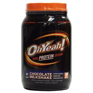 Picture of OhYeah! Total Protein System Choclate Flavor 2.4 lbs 22 Servings