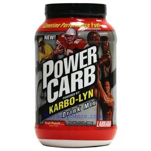 Picture of Labrada Power Carb Drink Mix  Fruit Punch Flavor 2.2 lbs 42 Servings