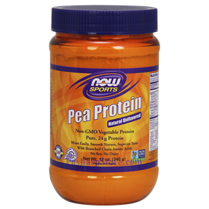 Picture of Now Foods Sports Pea Protein Powder Unflavored 12 Oz