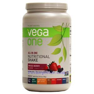 Picture of Vega One All-In-One Plant-Based Nutritional Protein Shake Mixed Berry Flavor 30 Oz 19 Servings