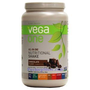 Picture of Vega One All-In-One Plant-Based Nutritional Protein Shake Chocolate Flavor 30.9 Oz 19 Servings