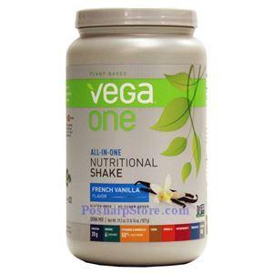 图片 Vega One牌全面的植物蛋白营养奶昔 香草味 827克 19次用量
