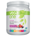 Picture of Vega One All-In-One Plant-Based Nutritional Protein Shake Mixed Berry Flavor 15 Oz 10 Servings