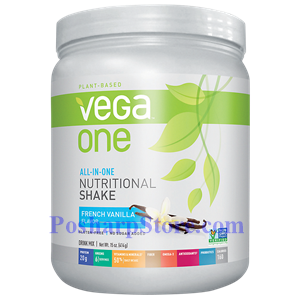 Picture of Vega One All-In-One Plant-Based Nutritional Protein Shake French Vanilla Flavor 15 Oz 10 Servings