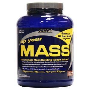 图片 MHP 牌Up Your Mass增肌系列增肌增重蛋白粉 巧克力味 2154克 17次用量