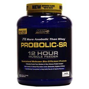图片 MHP 牌Probolic-SR系列12小时缓释增肌增重蛋白粉 香草味 1769克 56次用量